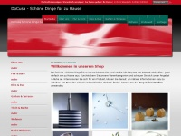 ambiente-onlineshop.de Webseite Vorschau