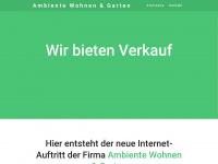 ambiente-rothenburg.de Webseite Vorschau