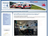 ambulanz-service.com Webseite Vorschau