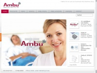 ambuman.de Webseite Vorschau