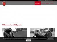 ame-dynamic.de Webseite Vorschau