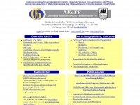 akdff.de Webseite Vorschau