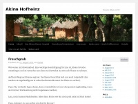 akina-hofheinz.de Webseite Vorschau