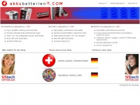 akkubatterien.com Webseite Vorschau