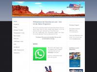 amerika-ich.com Webseite Vorschau