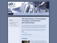 aks-maschinenbau.de Webseite Vorschau