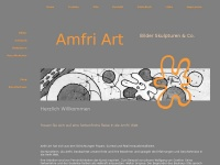 amfri-artgallerie.de Webseite Vorschau