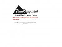 amiquipment.de Webseite Vorschau