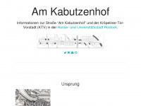 amkabutzenhof.de Webseite Vorschau