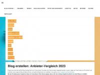 aktion.blog.de Webseite Vorschau