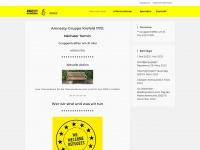 amnesty-krefeld.de Webseite Vorschau