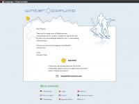 wintercomunio.com Webseite Vorschau