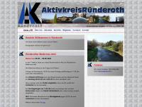 aktivkreis-ruenderoth.de Webseite Vorschau