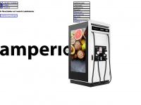 amperio.eu Webseite Vorschau