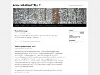amperschuetzen.wordpress.com Webseite Vorschau