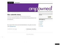 ampowned.wordpress.com Webseite Vorschau
