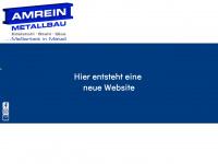 amrein-metallbau.de Webseite Vorschau