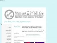 amresmiriel.de Webseite Vorschau
