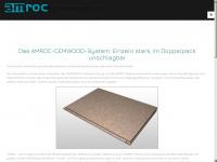amroc-trockenestrich.de Webseite Vorschau