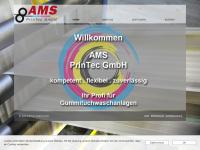 ams-support.de Webseite Vorschau