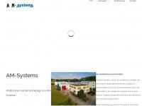 ams-systems.com Webseite Vorschau