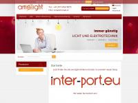 amslight.de Webseite Vorschau