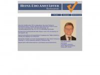 amstaedter.de Webseite Vorschau