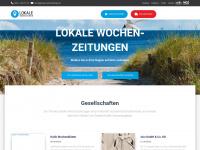 lokale-wochenzeitungen.de Webseite Vorschau