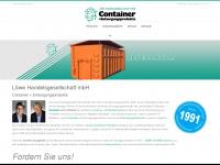 loewe-container.de Webseite Vorschau