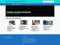 familie-und-arbeitswelt.de Webseite Vorschau