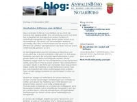 anwaltsbuerogunkel.blogspot.com