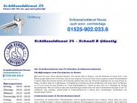 schluesseldienst24.mobi Webseite Vorschau