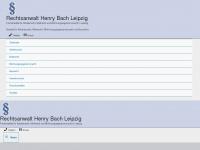 rechtsanwalt-bach.de Webseite Vorschau