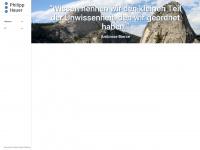 philipphauer.de Webseite Vorschau