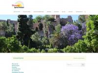 flamenco-sprachreisen.at Webseite Vorschau