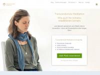 meditation.de Webseite Vorschau