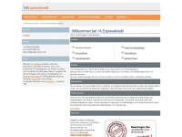 1a-expresskredit.de Webseite Vorschau