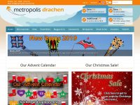 metropolis-drachen.de Webseite Vorschau