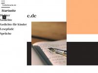 gedichtsuche.de Webseite Vorschau