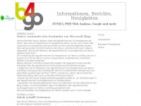 b3go.de Webseite Vorschau