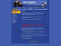 b4steps.de Webseite Vorschau