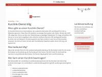 b9g.de Webseite Vorschau