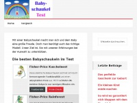 Babyschaukel-test.de