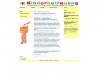 kinderbetreuung-bw.de Webseite Vorschau