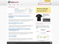 freesound.org Webseite Vorschau