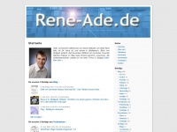 rene-ade.de Webseite Vorschau