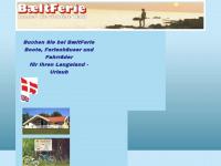 baeltferie.com Webseite Vorschau
