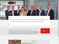 ams-net.de Webseite Vorschau