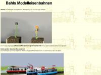 bahls-modelleisenbahnen.de