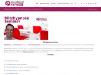 blitzhypnose.eu Webseite Vorschau
